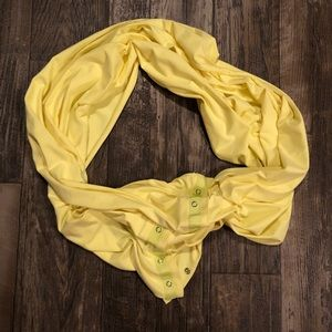 Yellow Vinyasa Snap Scarf